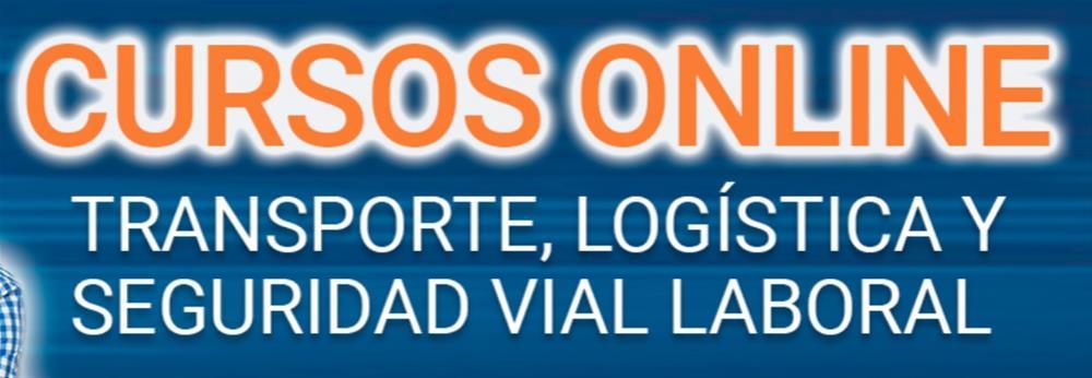 Cabecera curso COMPETENCIA PROFESIONAL TRANSPORTE  MERCANCÍAS Transportista